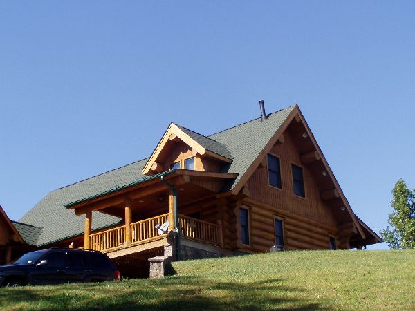 Richard Jenkins, Fairview NC - Log Home Builder